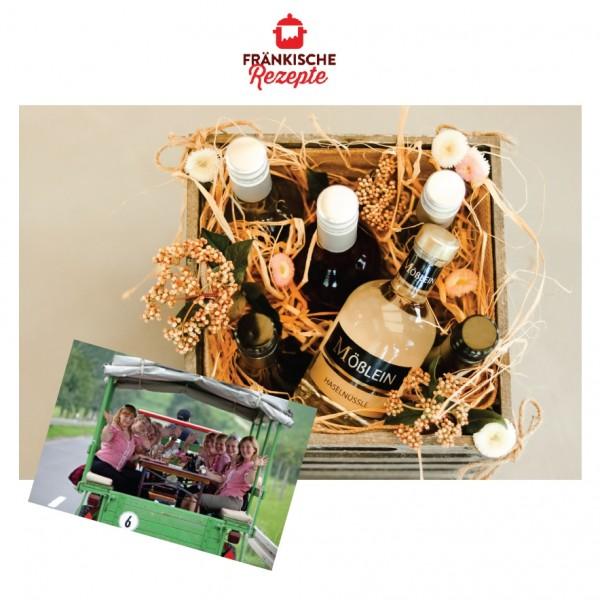Rezepte-Deal 6 Flaschen inkl. Planwagenfahrt für 2 Personen