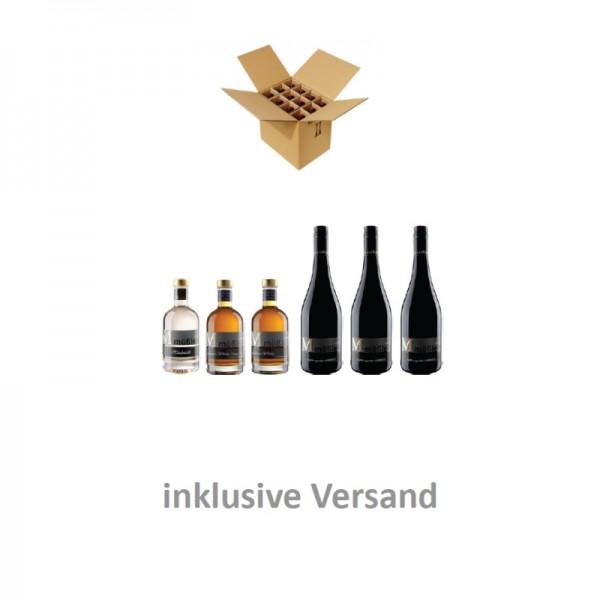 Genießerpaket Whisky & Wein
