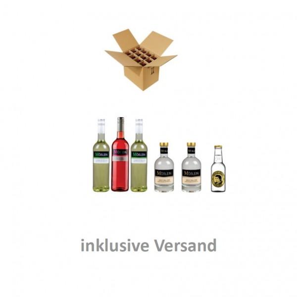 """Genießerpaket """"Gin & Wein"""""""
