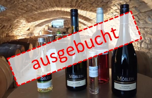 AUSGEBUCHT Online-Weinprobe am 6. März